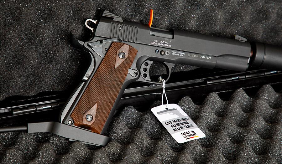 GSG 1911 .22lr Long Barrel Pistol